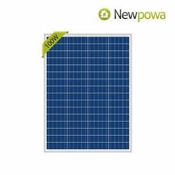 Open Box NewPowa 100W Watts Solar Panel 12V Volt Poly New condition Off Grid $69.00