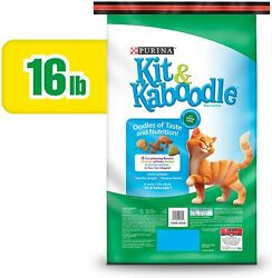 Pet Cat Food Indoor Dry Cat Food ChickenSalmonTurkey amp; Garden Greens 16 lb Bag $17.99