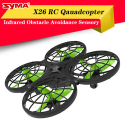 Syma X26 Infrared Obstacle Avoidance Remote Control Aircraft Mini Unmanned Drone $34.16