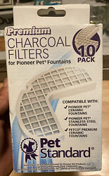 Premium Charcoal Filters for Pioneer Pet Fountains Pack of 8 New In Box $19.99