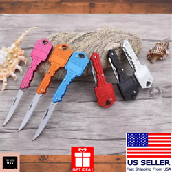 Mini Pocket Key Knife Camp Outdoor Hunting Keychain Folding Knife Survive Knives $7.65