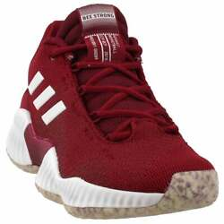 adidas Sm Pro Bounce 2018 Low Hs Elite Mens Basketball Sneakers Shoes Casual $54.99