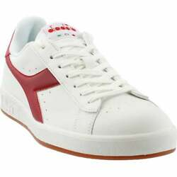 Diadora Game P Lace Up Mens Sneakers Shoes Casual White $39.99