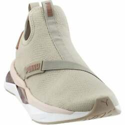 Puma LQDCELL Shatter Mid Casual Training Shoes Grey Womens $79.95