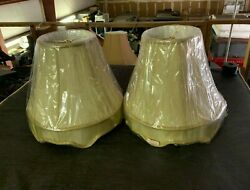 Lamp Shades Pair New In Packaging Cream Color Lamp Shades $25.00