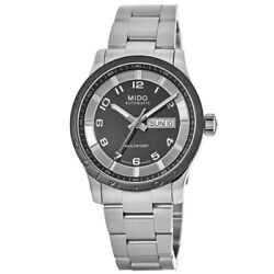 New Mido Multifort Automatic Day Date Black Men#x27;s Watch M018.430.11.062.00 $342.24