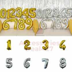 32quot; Large Number Foil Balloon Digit Balloons Birthday Anniversary Party Decor $3.89