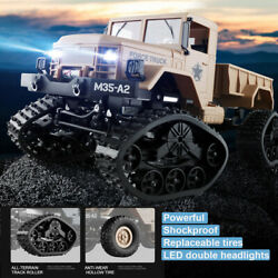 1:16 4WD RC Military Truck Powerful Army Car Crawler Off Road Vehicle Remote Toy $69.84