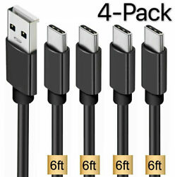 4 Pack OEM Samsung USB C Cable Type C Fast Charger For Galaxy S8 S9 S10 Plus $9.79