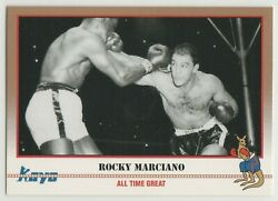 1991 Boxing Trading Card All Time Great Heavyweight Champion Rocky Marciano GBP 2.99
