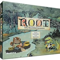 Root The Riverfolk Expansion Board Game Fourth Printing Edition by Leder Games $39.99
