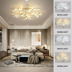 Modern Chandeliers Ceiling Light Fixture Pendant LED Dimmable Remote Control $51.86