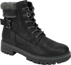 Cliffs by White Mountain Women#x27;s Meldon Lace Up Ankle Boot $33.00