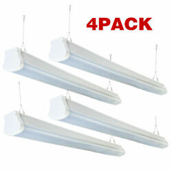 Vapor Proof LED Light Commercial Lights 5200lm 4 Pack 5500K Daylight for Сarport