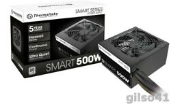 Smart 500W 80 White Certified PSU Continuous Power with 120mm Ultra Quiet Cool $45.99