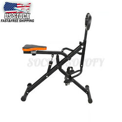 Indoor Abdominal Rowing Machine Exercise Ab Crunch Fitness Body Muscle Sporting $92.96
