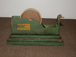 VINTAGE DESK OLD 3M MINNESOTA MINING MFG CO HEAVY DUTY METAL TAPE DISPENSER $223.99