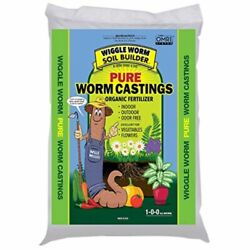 Wiggle Worm #WWSB30LB Worm Castings Organic Fertilizer Soil Builder 30 Pound $36.18