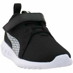 Puma Carson 2 Boys Logo Little Kids Lace Up Sneakers Casual Sneakers Black $24.99