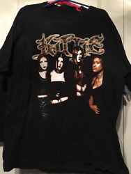 Rare Kittie band T shirt Tee vintage for Men Women all size S 3XL $10.99