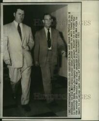 1955 Press Photo James R.Taylor Columbus Georgia witness Albert Fuller trial $19.99