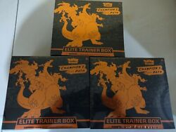 Pokemon Champions Path Elite Trainer Box ETB Lot of 3 Factory Sealed Charizard $285.00
