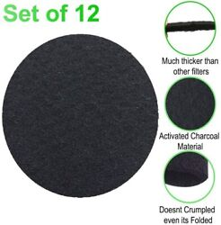 Carbon Charcoal Filters for Kitchen Compost Countertop Bins Pail Filters 12 pack $12.49