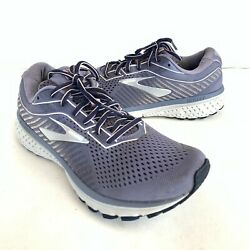 Brooks Ghost 12 Mens Size 10 Gray Athletic Road Running Shoes Sneakers $52.98