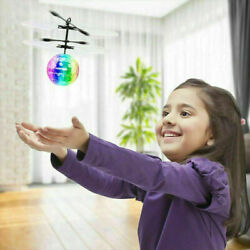 RC Flying Ball Drone Helicopter Ball Built in Disco Music With Shinning LED US $10.99