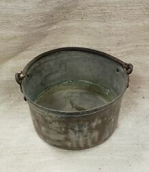 Large Copper Pail with Handle $35.00