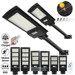 Commercial LED Solar Street Light Motion Sensor Dust to Dawn 150㎡ Area Spotlight