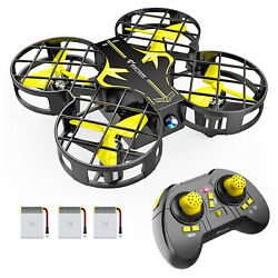 Mini RC Drone Altitude Hold 3D Filps Quadcopter Remote Control Xmax Gift for Kid $20.89