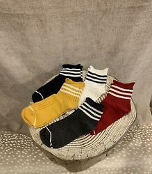 Women Novelty Socks Cute Casual Striped Socks Bundle Pack of 5 Size 6.5 7 $14.99