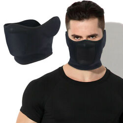 Balaclava Half Face Mask Mouth Cover with Ear Warmer for Cold Weather Men Women $7.98
