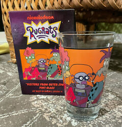 Nickelodeon Nick Box Exclusive Rugrats Visitors from Outer Space Pint Glass Cup $22.90