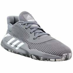 adidas Pro Bounce 2019 Low Mens Basketball Sneakers Shoes Casual Grey Size $109.99