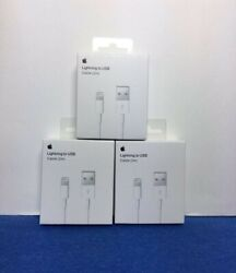 3 X ORIGINAL OEM USB Charger Cable 2m 6ft apple iphone iPhone 11 X 8 7 plus $16.99