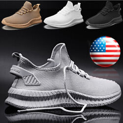 Men#x27;s Athletic Running Shoes Gym Running Sports Tennis Sneakers Outdoor Casual $22.99