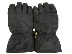 LL Bean Grey Down Insulated Gloves Leather Palm Mens Size XL $24.99