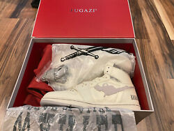 Fugazi One In The Chamber Air jordan 1 White Grey Size 12 MENS $499.99