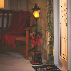 46quot; Light Up Christmas Lamp Post Outdoor Indoor Holiday Decorations BRAND NEW $79.95