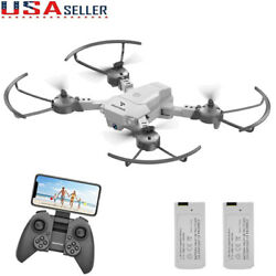 Mini Foldable Drone 720P HD Camera FPV RC Quadcopter Voice Control Toy Xmax Gift $36.99