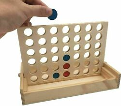 Connect 4 Large Outdoor Games Yard Big Huge Four Lawn Wooden Jumbo Game $20.99