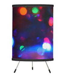 Lamps with Color Abstract Graphics for Home Decor Christmas gift Custom $55.00