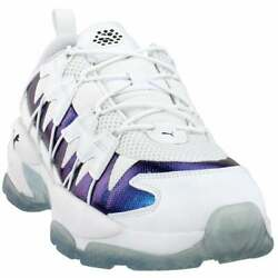 Puma Lqdcell Omega Iridescent Lace Up Mens Sneakers Shoes Casual White $69.99