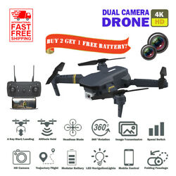 Dual Camera 4K HD Drone WiFi FPV RC Foldable Altitude Hold RC Quadcopter $9.99