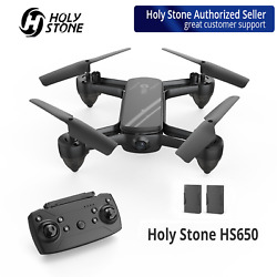 Holy Stone HS650 RC Drone with 1080p HD Camera Quadcopter FPV 3D Flip 2 Battery $54.94