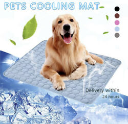 Dog Cooling Mat Pet Ice Pad Mattress Cat Cushion Summer Cool Bed 24h delivery $9.00