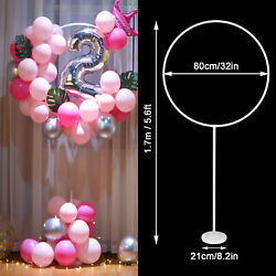 1 2 Set Balloon Column Arch Base Stand Display Kit Wedding Christmas Party Decor $9.48