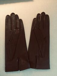 Vintage Black Leather Driving Gloves $20.00